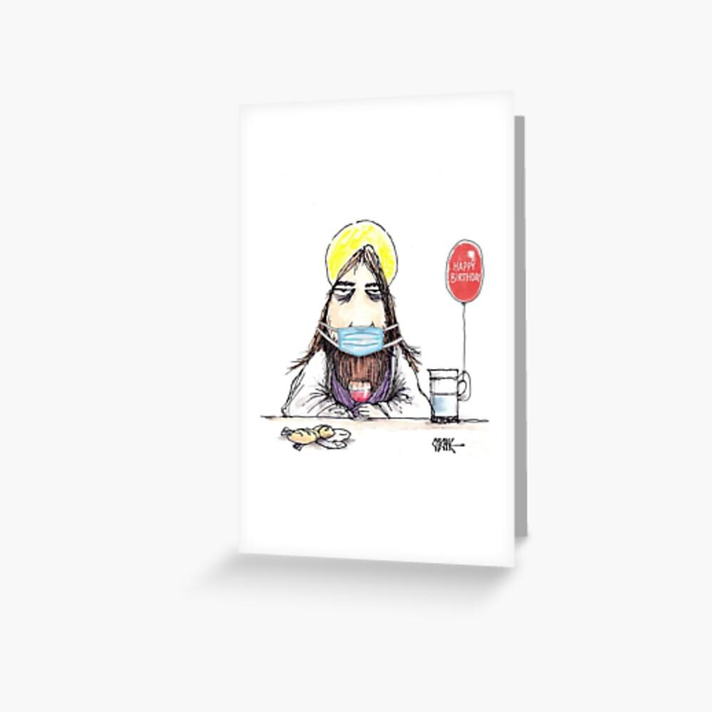 Happy Birthday Jesus Christmas Card by Chicane