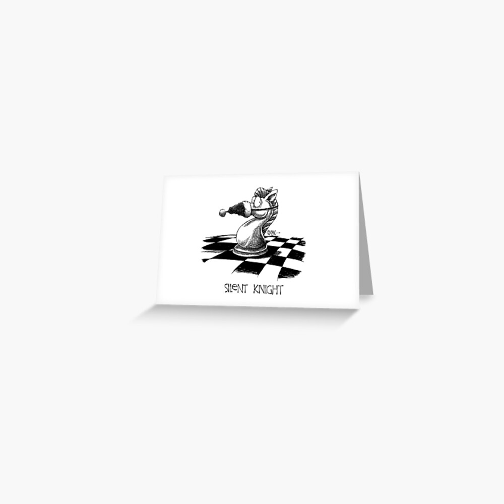 Silent Knight Cartoon Christmas card by Chicane